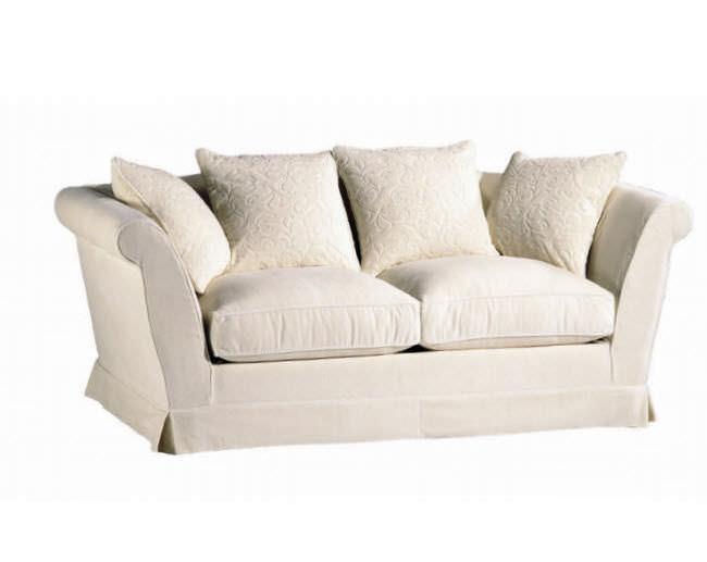 Canapé classique / de style cottage / en tissu / 2 places ...