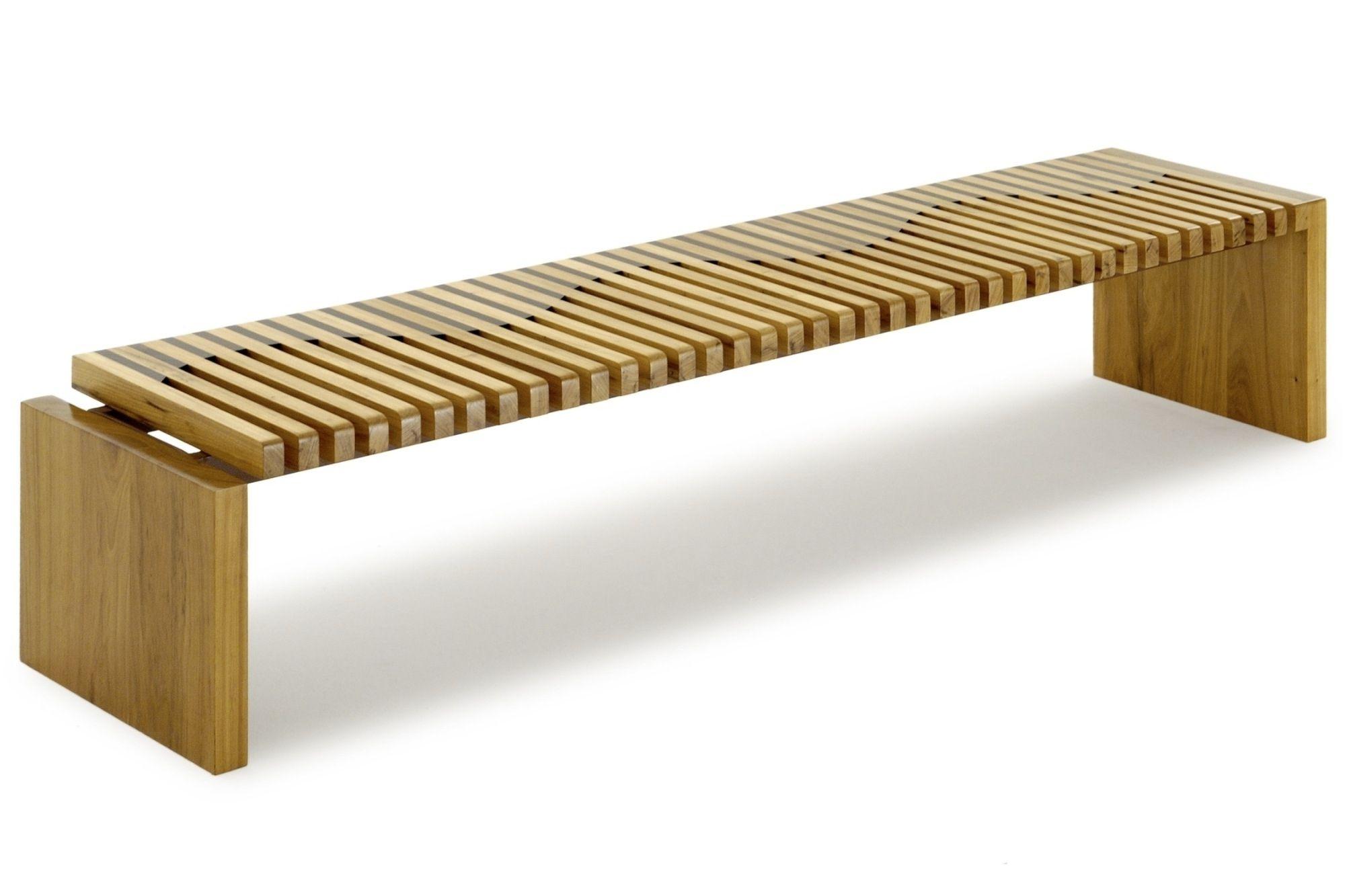 Banc contemporain / en bois / de récupération - ONDA - Rotsen Furniture