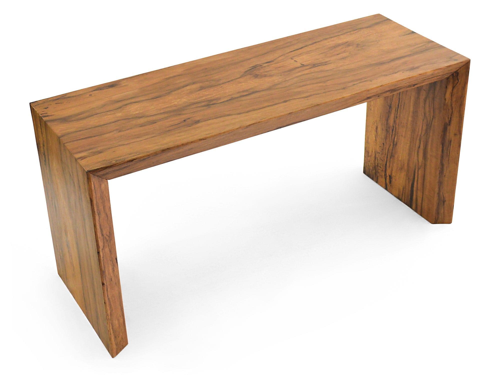 Console contemporaine en bois rectangulaire pour bureau