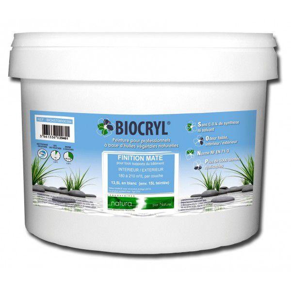 Peinture Décorative / De Finition / Pour Mur / Pour Plâtre - Biocryl