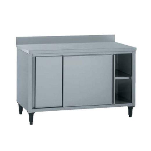 armoire de rangement en acier inox pour cuisine professionnelle ... - Bandeau Inox Pour Cuisine
