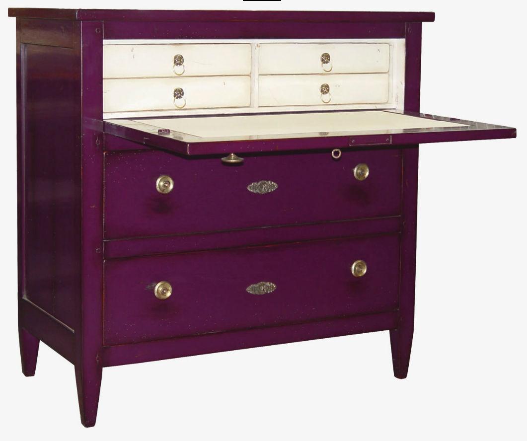 meuble secrétaire de style directoire / en bois - 540 - moissonnier - Secretaire Meuble Design