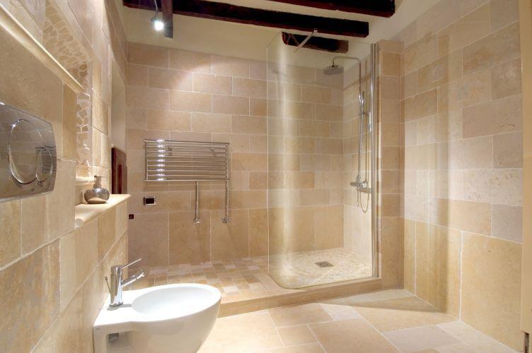 carrelage de salle de bain / de sol / mural / en ciment - gold ... - Carrelage Pierre Naturelle Salle De Bain