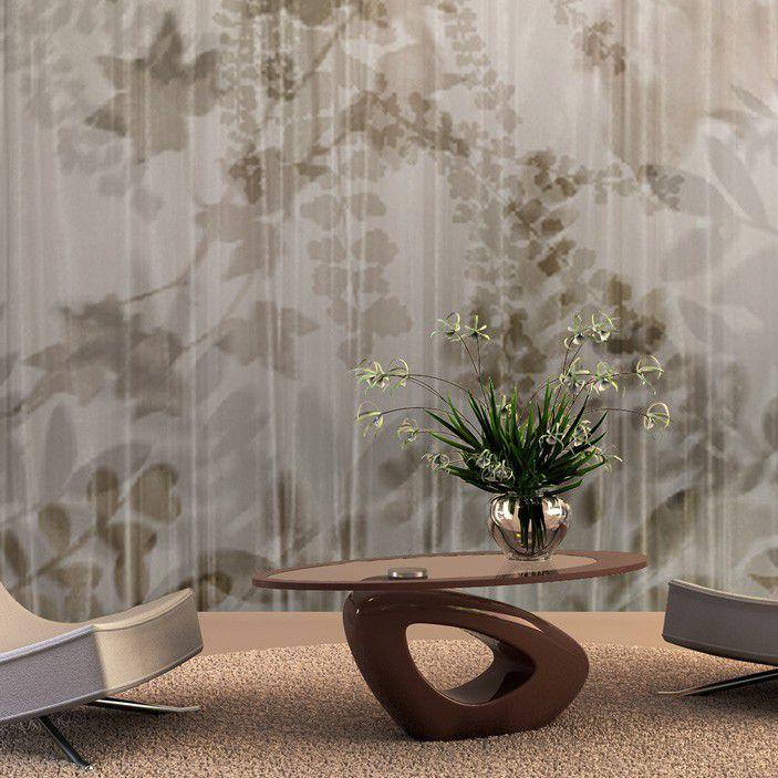 Papier Peint Classique Panoramique A Motif Nature Imprime