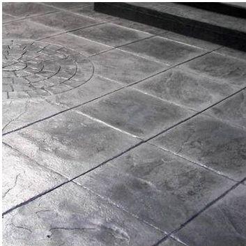 Sol En Béton Imprimé Pour Le Tertiaire Texturé Aspect - Carrelage beton