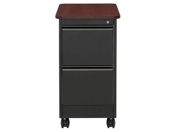Caisson de bureau en métal à tiroirs à clé à
