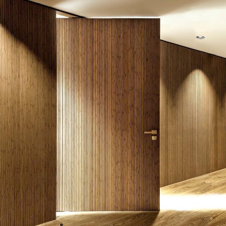 Panneau d\'ameublement / en bois / pour agencement intérieur / mural ...