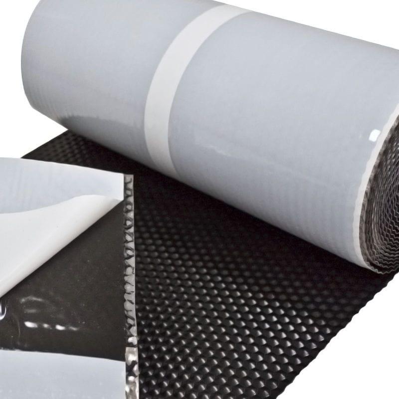 membrane d'étanchéité en butyl / en plomb / pour toiture / en