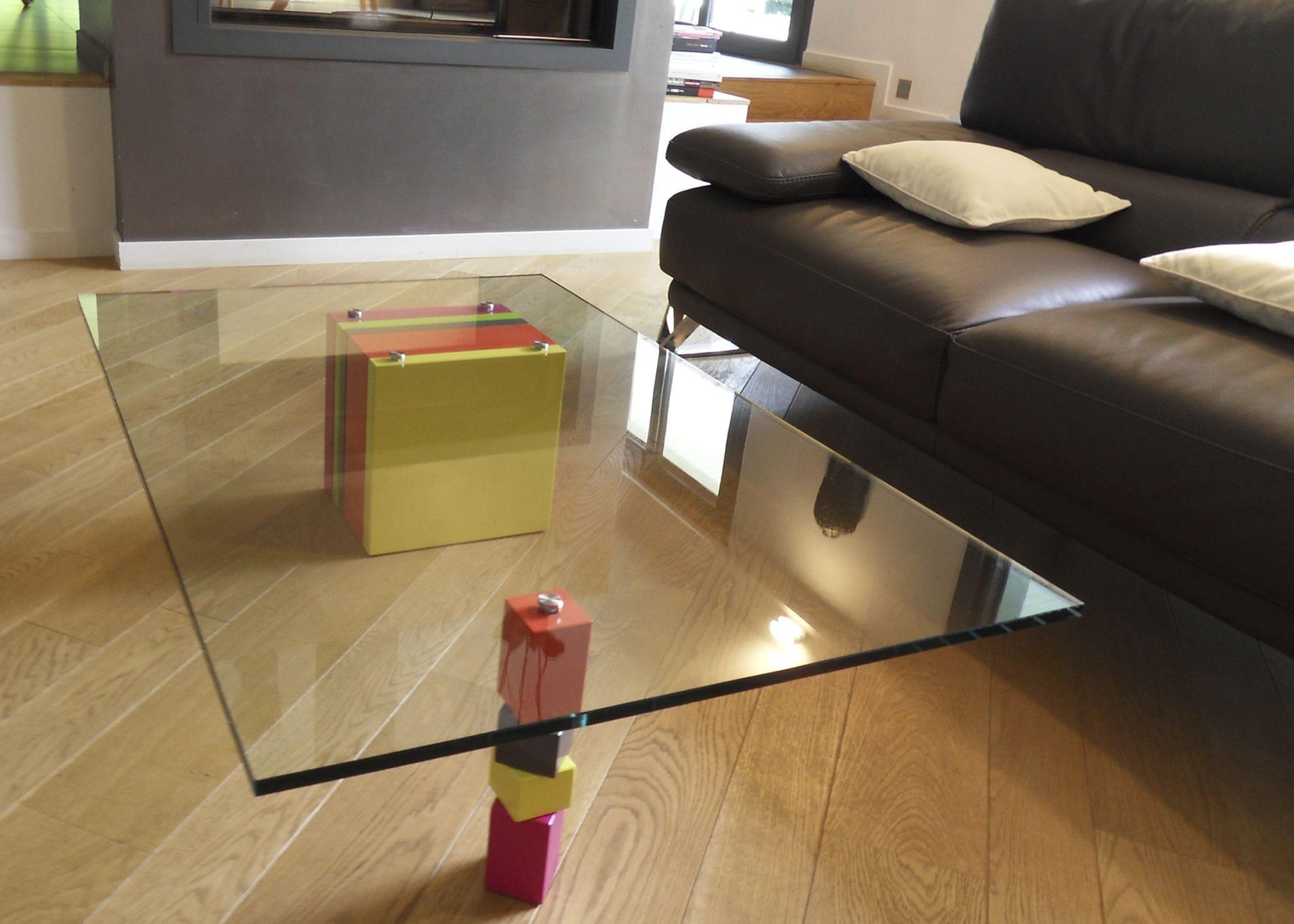 table contemporaine sur mesure