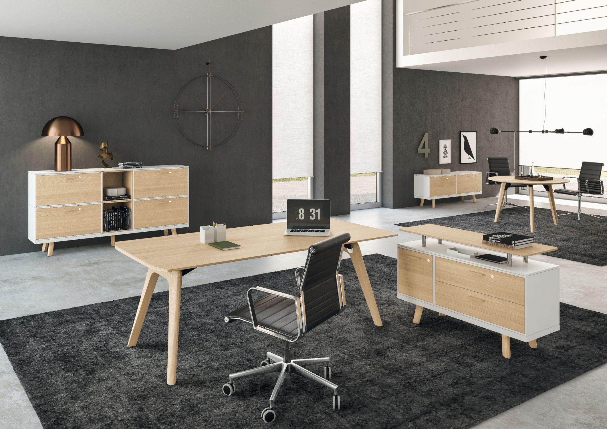 Favori Bureau de direction / en bois / en verre / contemporain - RAIL  DL51