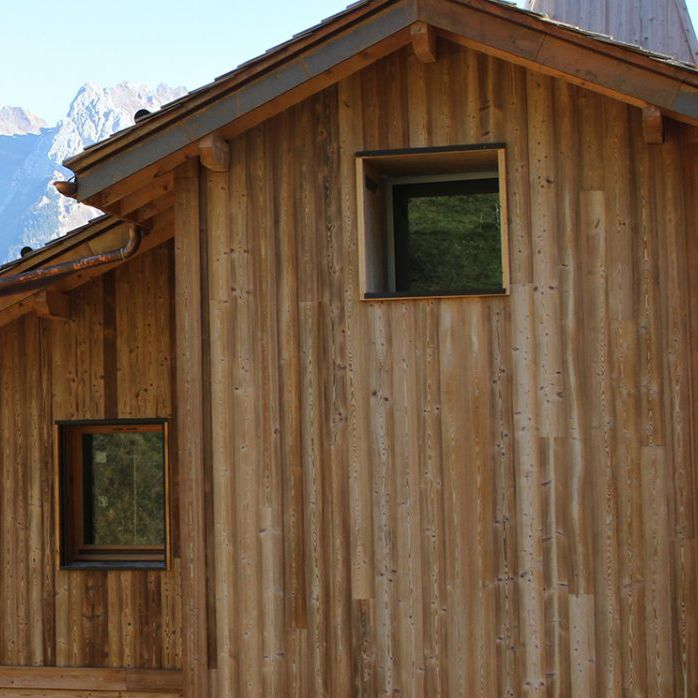 Parement en bois extérieur intérieur