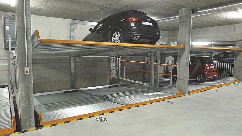 Favori Système de stationnement avec plate-forme / ascenseur - MULTIVARIO  AV27