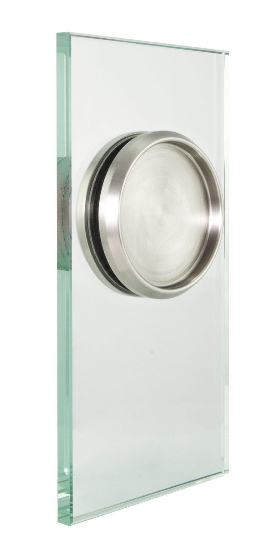 000b7096896f29 poignée de tirage pour porte coulissante / pour porte en verre / en inox /  contemporaine ...