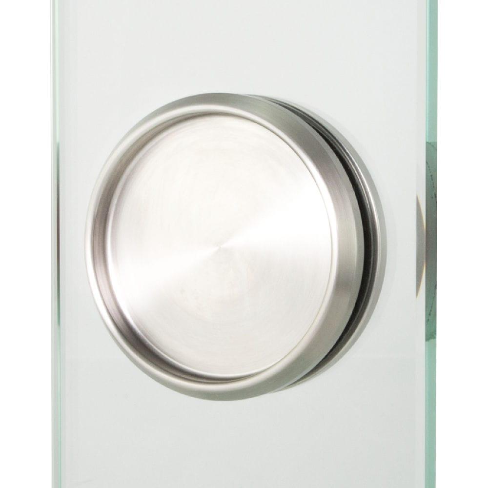 ab98381c26cf38 ... poignée de tirage pour porte coulissante / pour porte en verre / en  inox / contemporaine