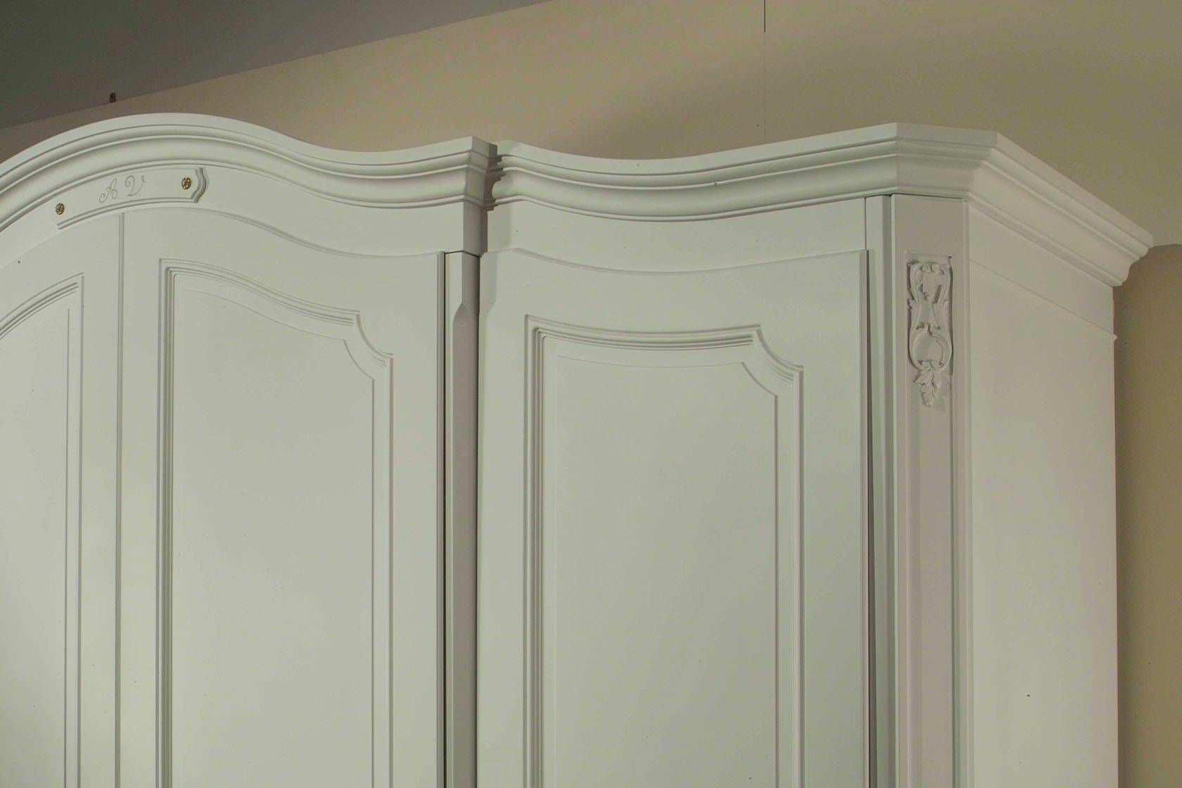 Armoire de chambre classique / en bois / à porte battante   18th ...