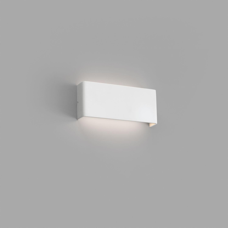 Applique Contemporaine Rectangulaire Aluminium En Murale Led À qUVMSzGp