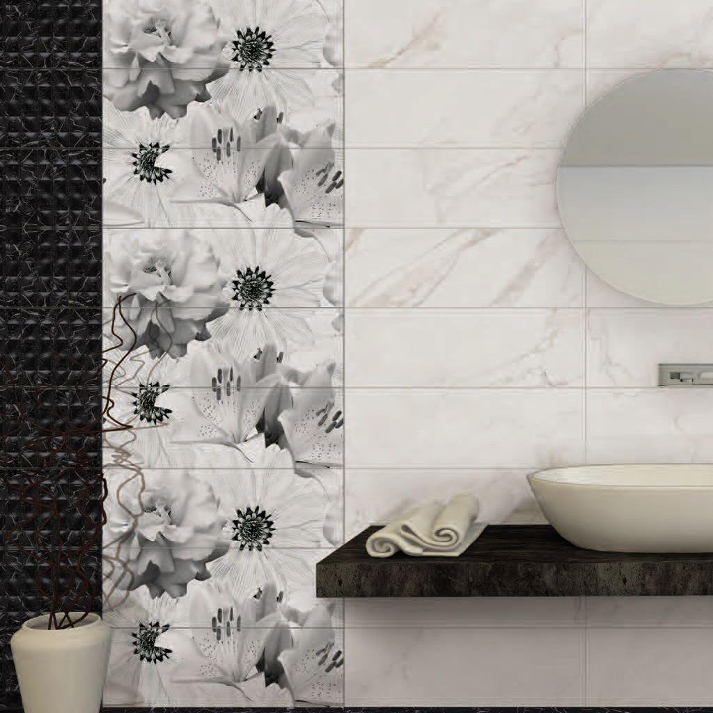 carrelage de salle de bain de salon mural de sol marmara