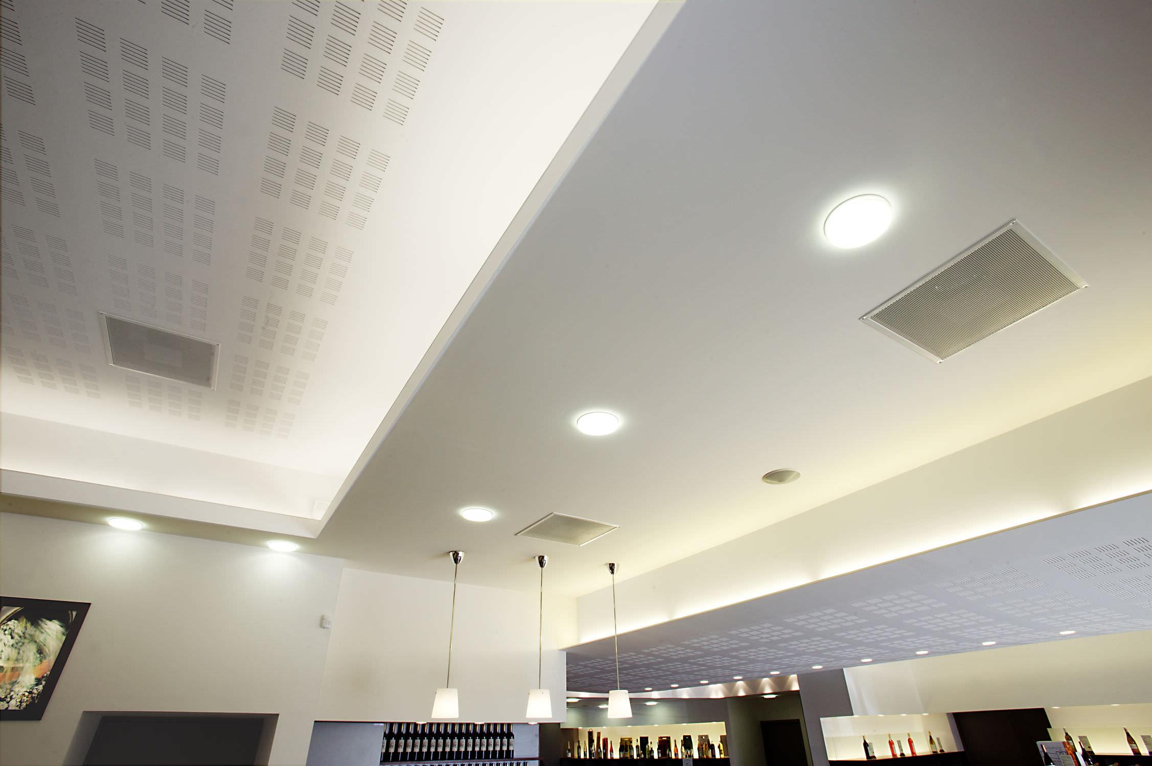 Plafond corniche lumineuse