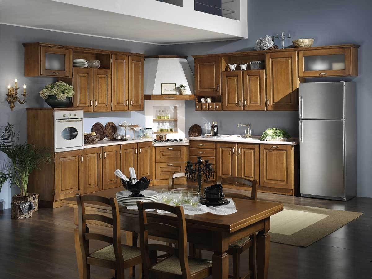 Cuisine de style / en bois - VALENTINA - Onlywood SRL