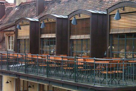 Store Vénitien / En Bois / D'Extérieur - Valencia - Luxmader