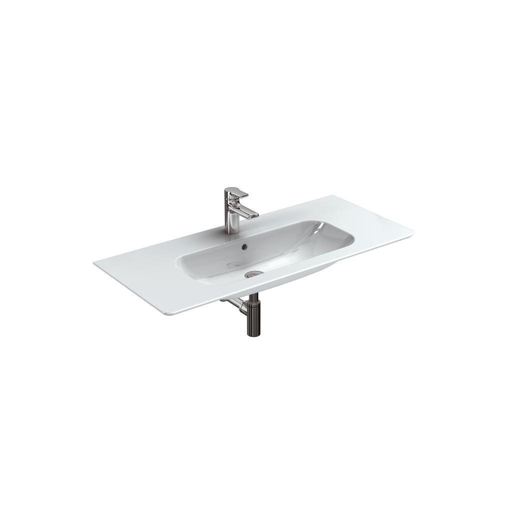 Salle De Bain Kramer ~ vasque poser rectangulaire contemporaine avec miroir