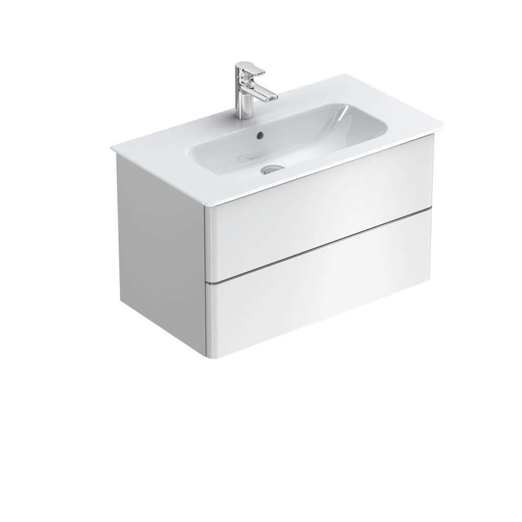Salle De Bain Kramer ~ meuble vasque suspendu en mdf contemporain softmood ideal