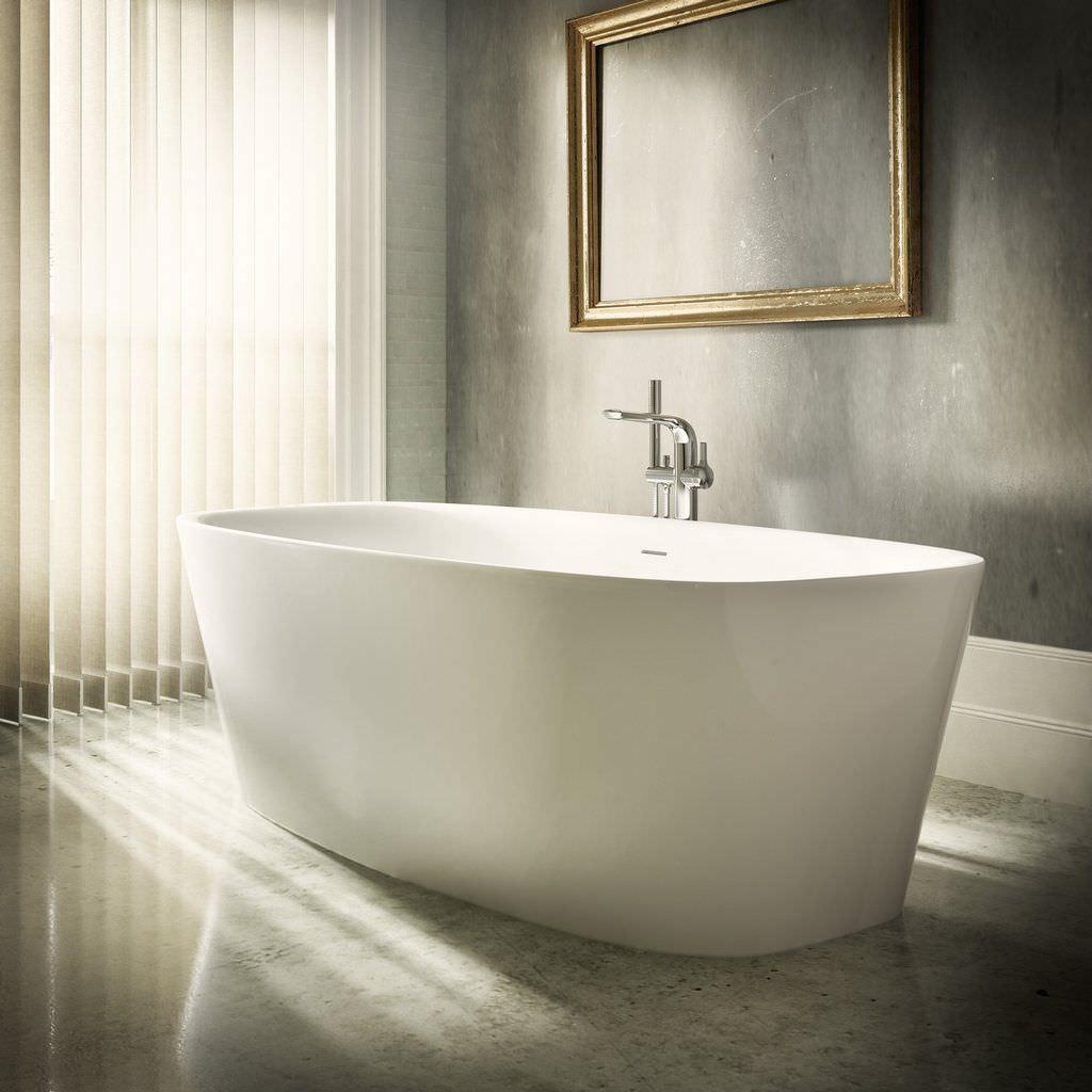 Salle De Bain Kramer ~ baignoire poser ovale en c ramique dea by dick powell