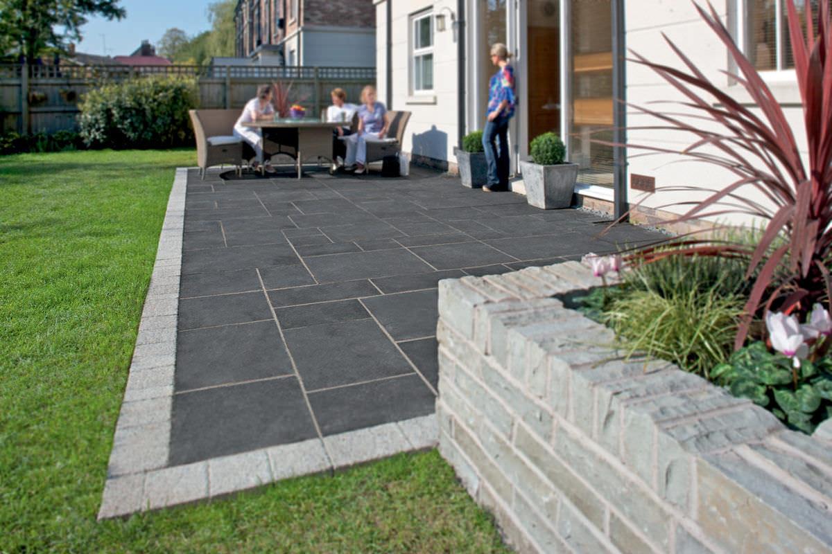 carrelage dextrieur de jardin pour sol en calcaire fairstone riven