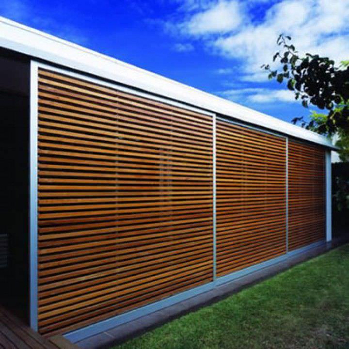 Brise Vue Panneau En Bois Silva Timber Products