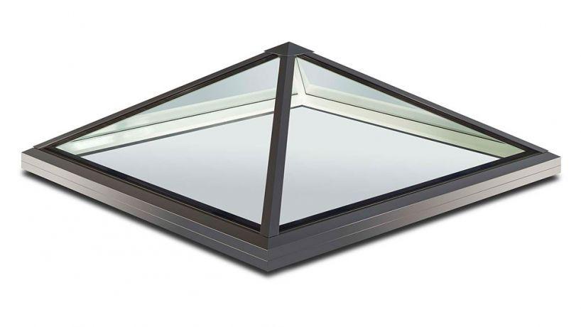 Fenêtre De Toit à Projection En Aluminium à Double Vitrage à