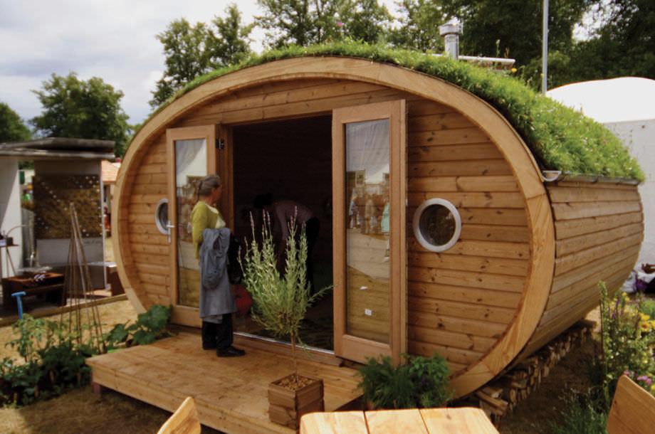 Micro Maison Prefabriquee Contemporaine Ecologique Garden Ark