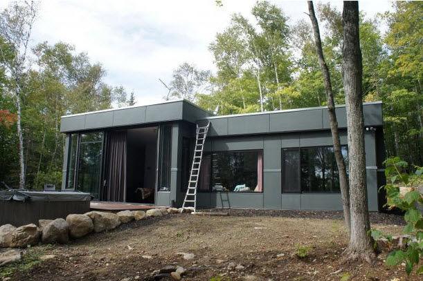 Bien-aimé Maison modulaire / design original / contemporaine / écologique  WG88