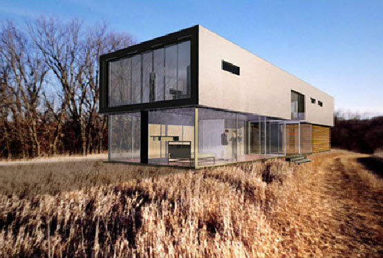 maison mobile 2 etages