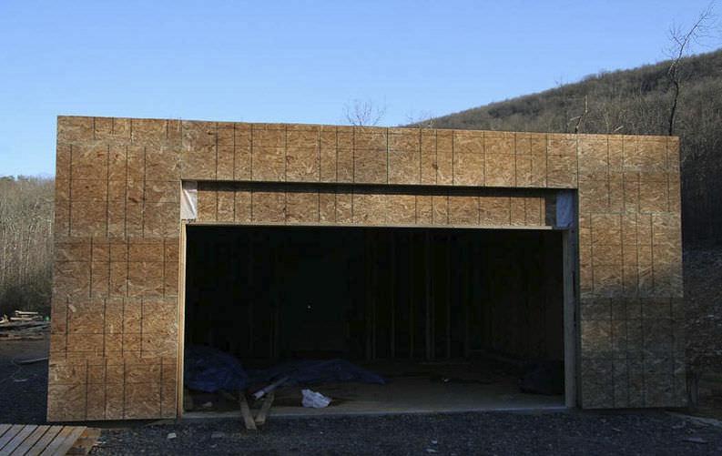 Bâtiment Préfabriqué / Pour Garage / En Bois / Contemporain ...