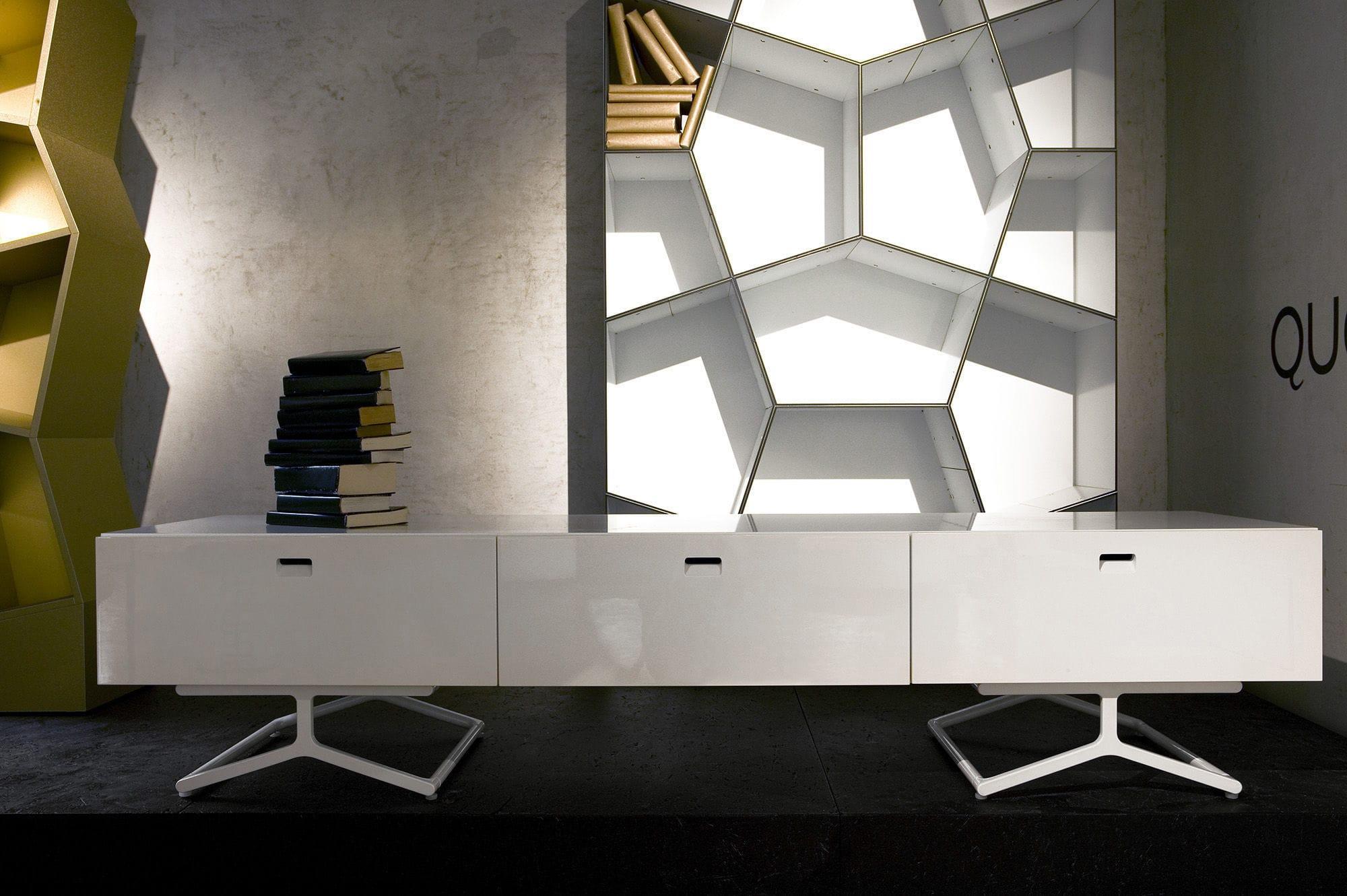Meuble De T L Vision Contemporain Design Minimaliste Hi Fi  # Meubles Derangement Tele Minimaliste