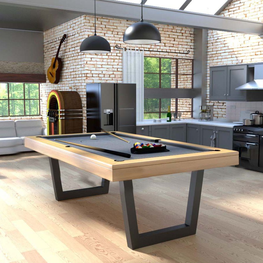 table de billard contemporaine convertible en table manger professionnelle harmony v - Billard Et Table A Manger