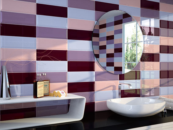 carrelage de salle de bain / de cuisine / de sol / en céramique ... - Faience De Salle De Bain Moderne