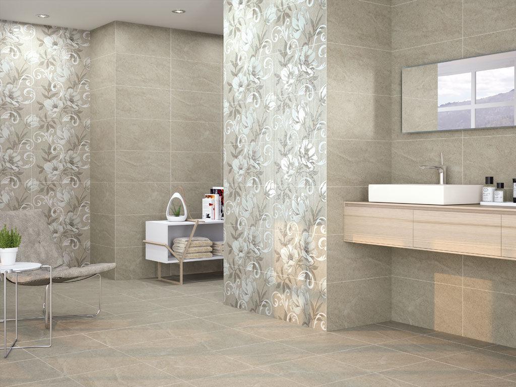 carrelage de salle de bain / de sol / en céramique / à motif ... - Motif Carrelage Salle De Bain