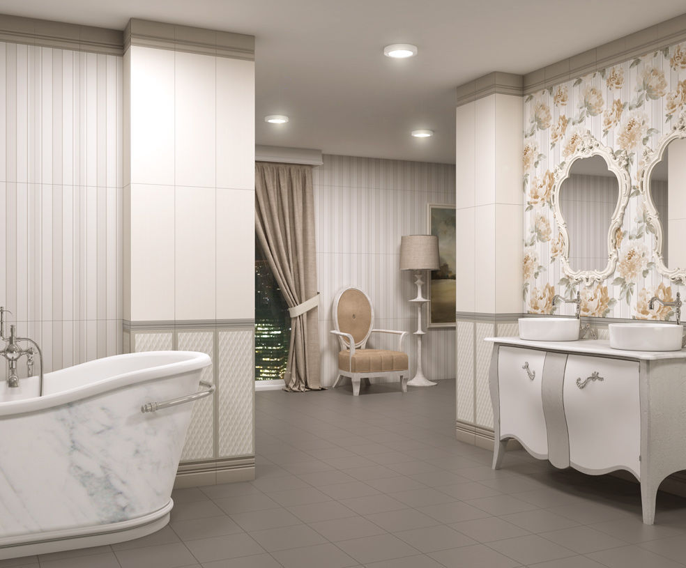 carrelage de salle de bain de salon mural en cramique