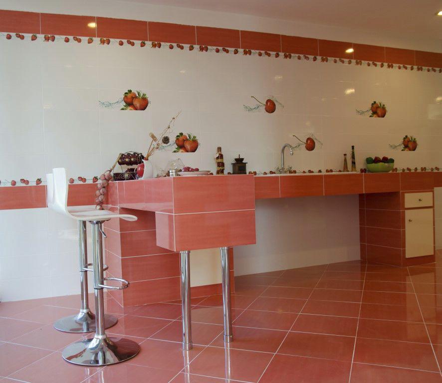 Carrelage de cuisine / de sol / mural / en céramique - CREA ...