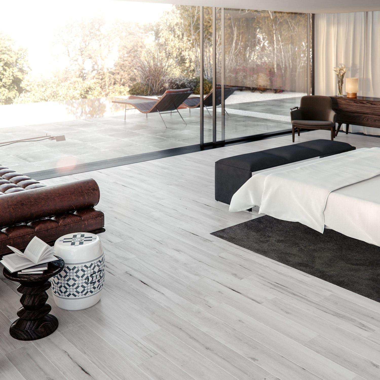carrelage de salon / de sol / en grès cérame / rectangulaire - feel