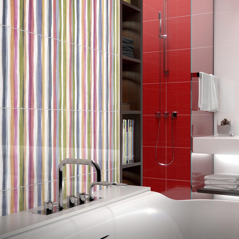 Salle De Bain Emotion ~ carrelage d int rieur de salle de bain mural en c ramique