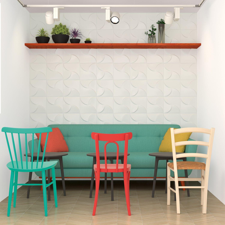 Carrelage d\'intérieur / mural / en céramique / carré - ARIA GREIGE ...