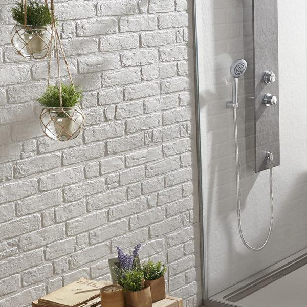panneau d coratif composite mural pour salle de bain. Black Bedroom Furniture Sets. Home Design Ideas