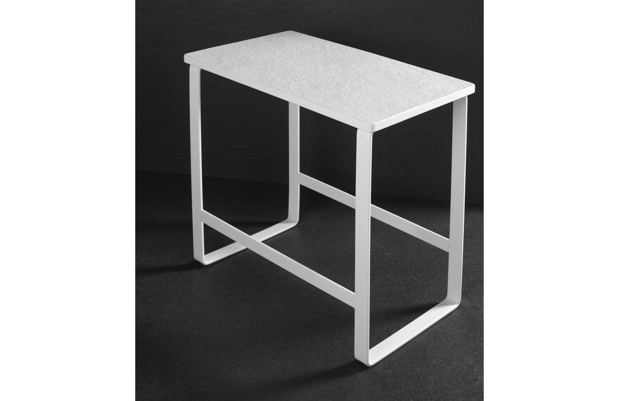... Tabouret Contemporain / En Aluminium / De Salle De Bain / Blanc ...
