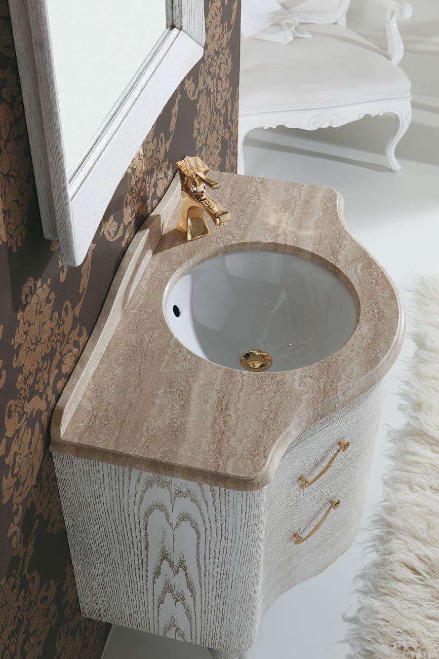 Meuble Vasque à Poser / En Bois / En Marbre / En Travertin ...