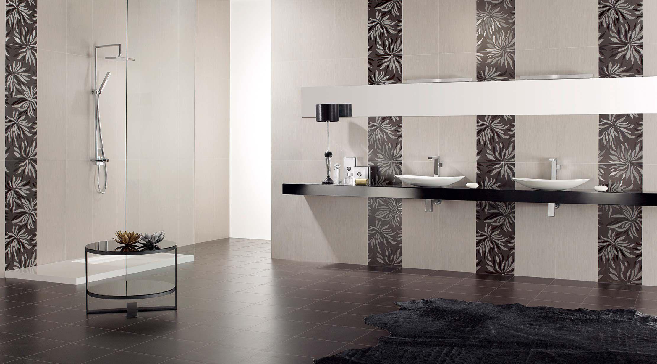 Carrelage de salle de bain / de sol / mural / en grès cérame ...