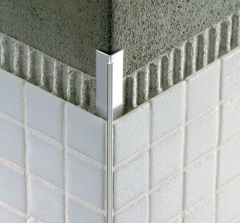 Profilé De Finition En Aluminium Pour Carrelage Pour Angle - Carrelage d'angle