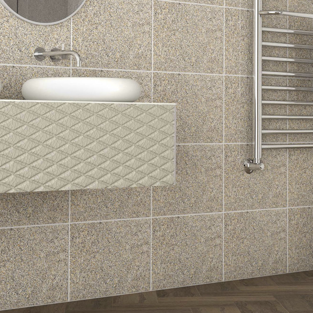 Colonne Double Salle De Bain Ikea ~ carrelage de salle de bain mural en gr s c rame motif