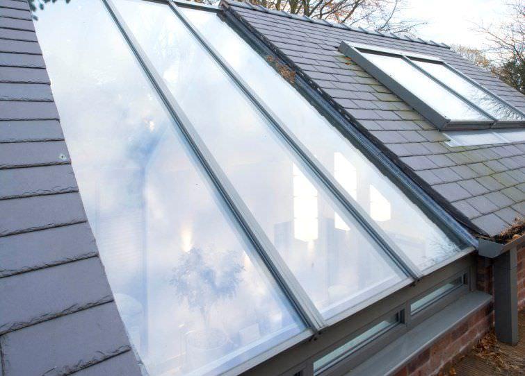Super Toit vitré en aluminium - Apropos Tectonic Limited EY37